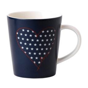 Ellen DeGeneres by Royal Doulton Heart & Stars Mug