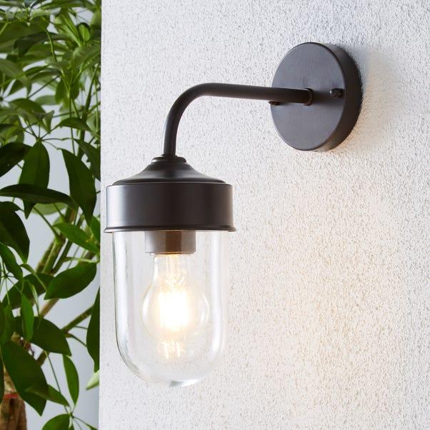 Colmar Black Outdoor Wall Light Coffee
