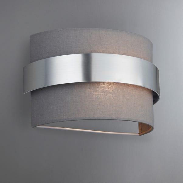 Joey Shaded Grey Wall Light Grey