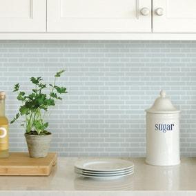 InHome Sea Glass Self Adhesive Backsplash Tiles