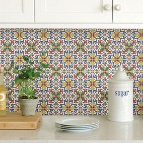 InHome Tuscan Tile Self Adhesive Backsplash Tiles