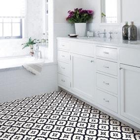 Floorpops Comet Self Adhesive Floor Tiles