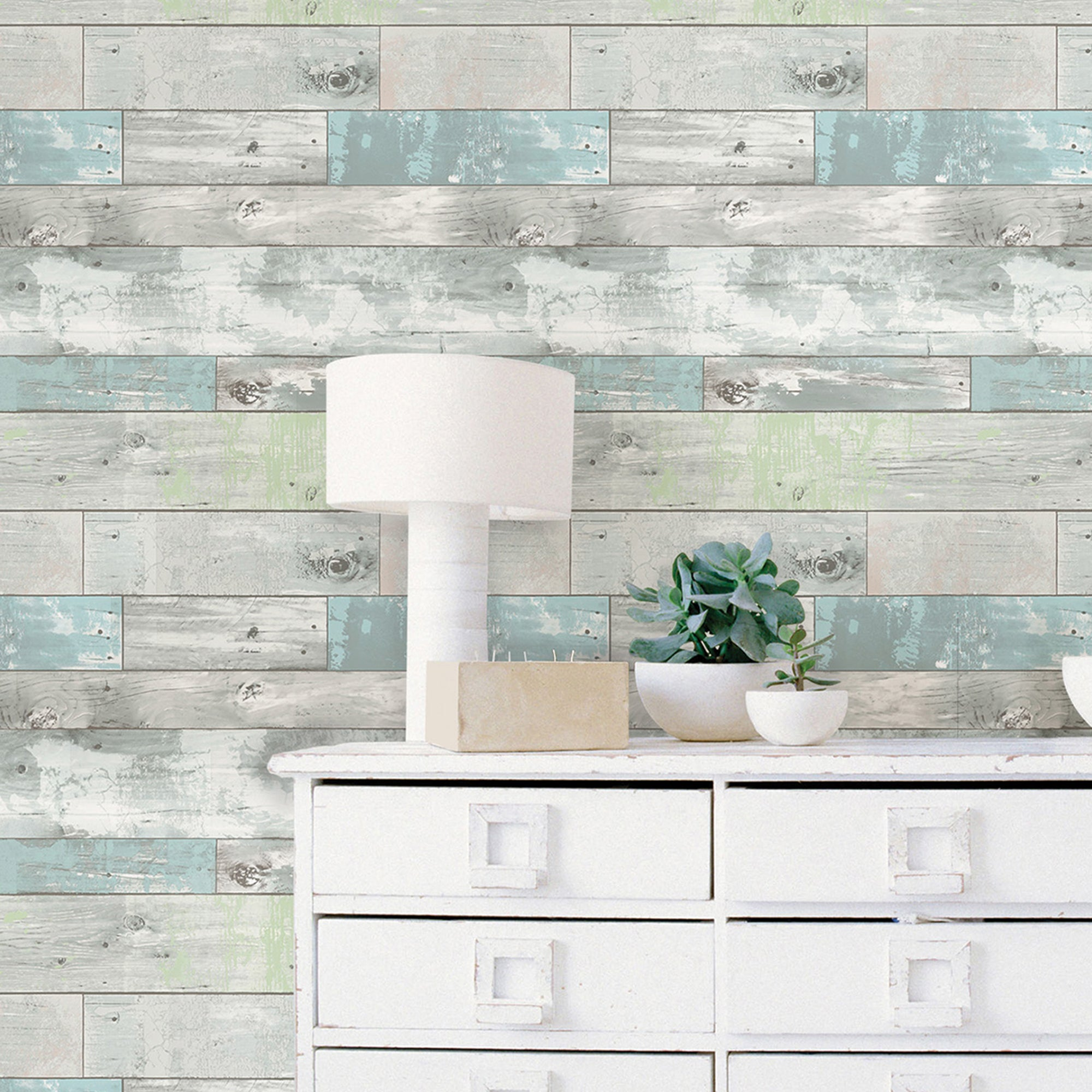 Click to view product details and reviews for Nuwallpaper Beachwood Blue Self Adhesive Wallpaper Blue.