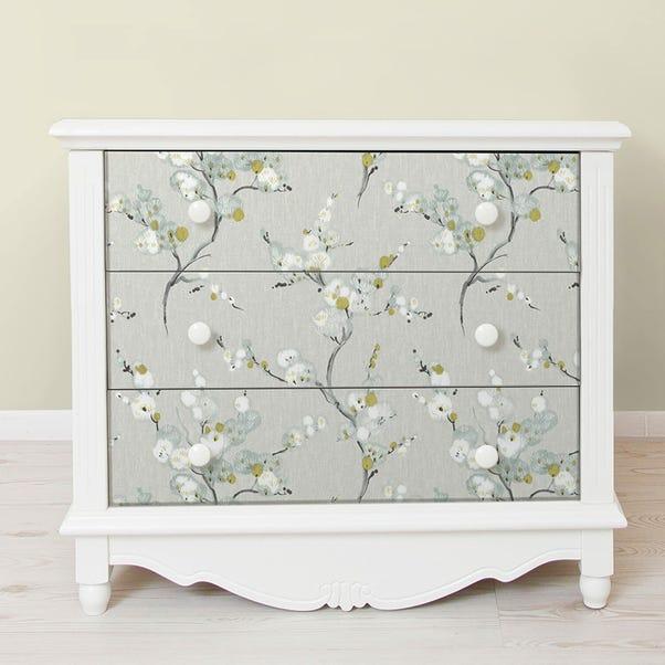 NuWallpaper Mirei Grey Self Adhesive Wallpaper Grey