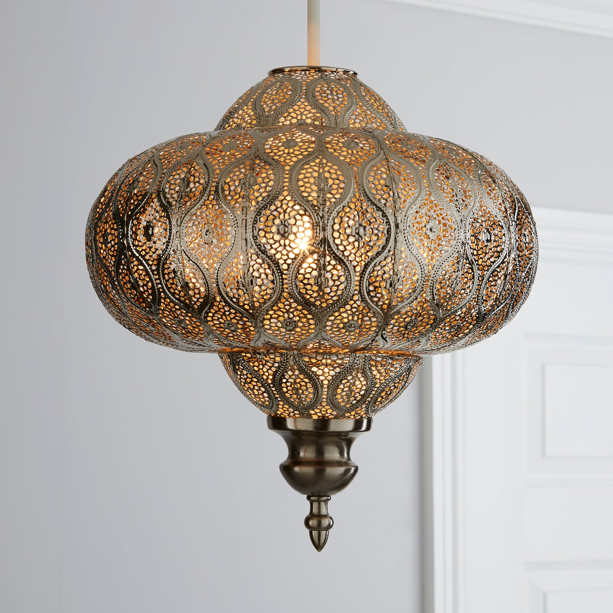 Click to view product details and reviews for Lucena Fretwork Silver Easy Fit Pendant Silver.