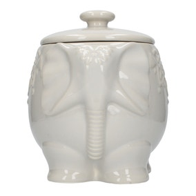 Elephant Storage Jar