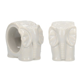 Set of 2 Elephant Napkin Rings