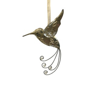 Metal Hanging Hummingbird