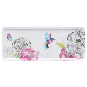 Heavenly Hummingbird Melamine Small Tray
