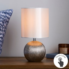 Adana Mini Ceramic IvoryTouch Dimmable Lamp