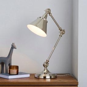 Dorma Ocala Chrome Task Desk Lamp