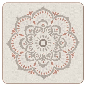 Pack of Four Cinnabar Coasters