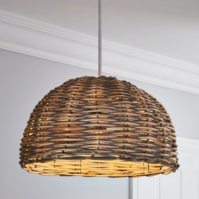 Lari Split Weave Grey Easy Fit Pendant