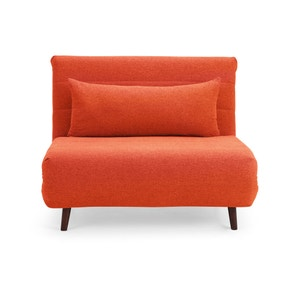 Oliver Chair Bed - Orange