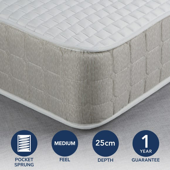 Fogarty Medium Luxe Memory Foam and 1000 Pocket Spring Mattress  undefined