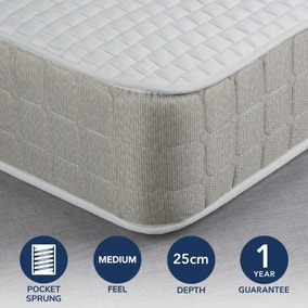 Fogarty Luxe Memory Foam and 1000 Pocket Spring Mattress