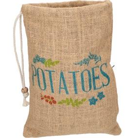 Hessian Potato Bag