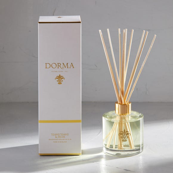 Dorma Ylang and Musk 200ml Reed Diffuser White