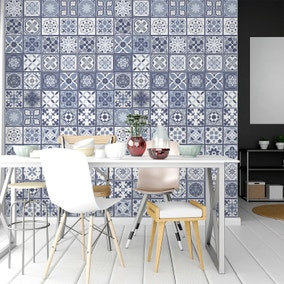 Lisbon 20cm Mosaic Tile Stickers