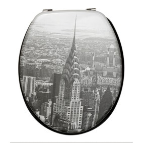 NYC Toilet Seat