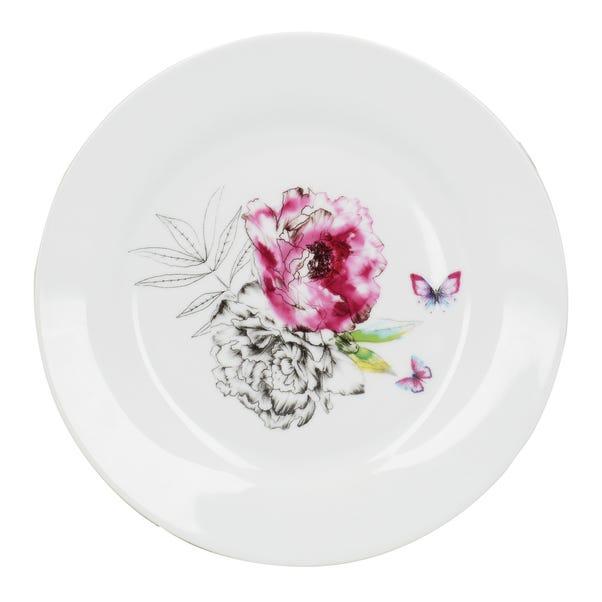 Heavenly Hummingbird Side Plate MultiColoured