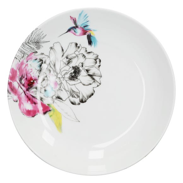 Heavenly Hummingbird Pasta Bowl MultiColoured