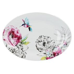 Heavenly Hummingbird Platter