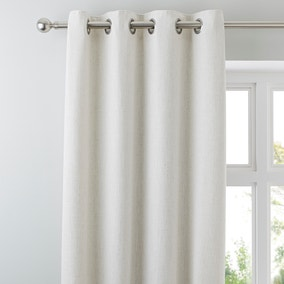 Purity Natural Eyelet Curtains