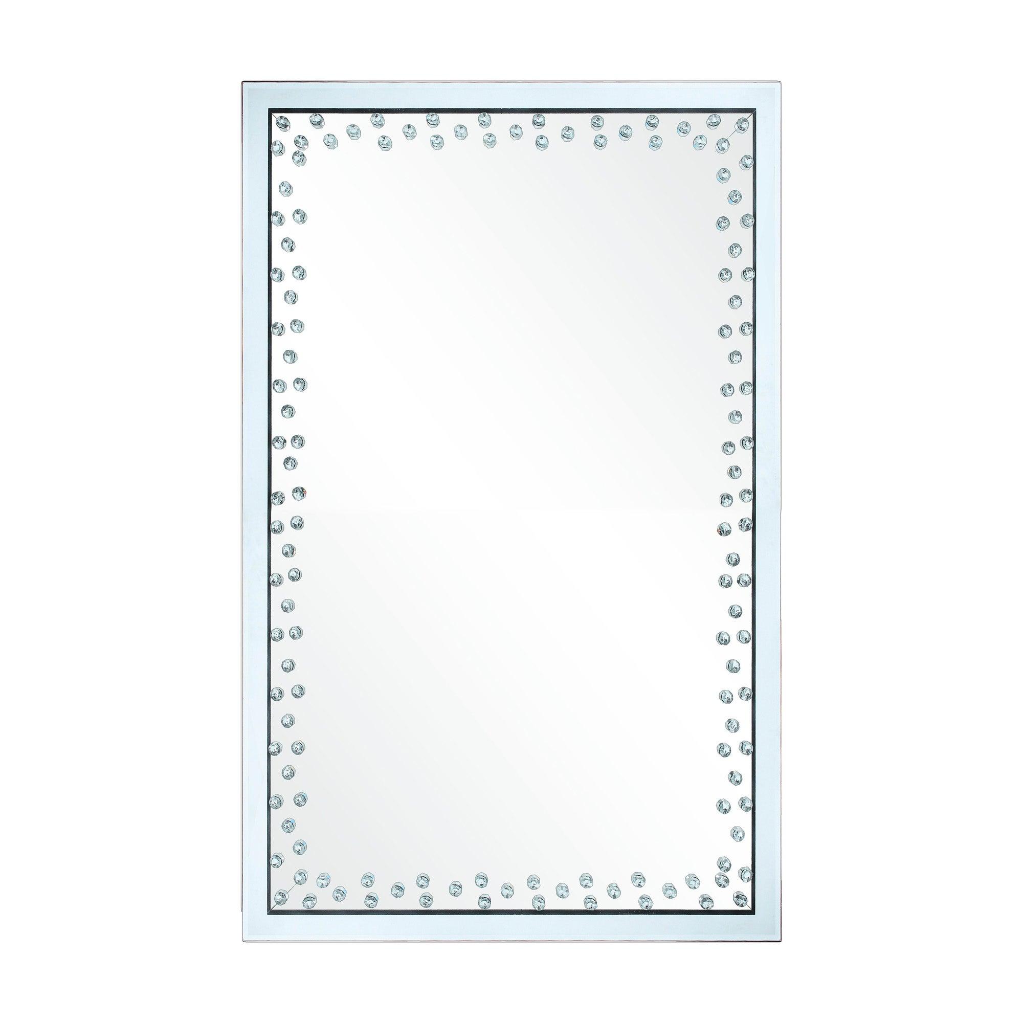 Diamond Edge Wall Mirror 60x90cm Clear