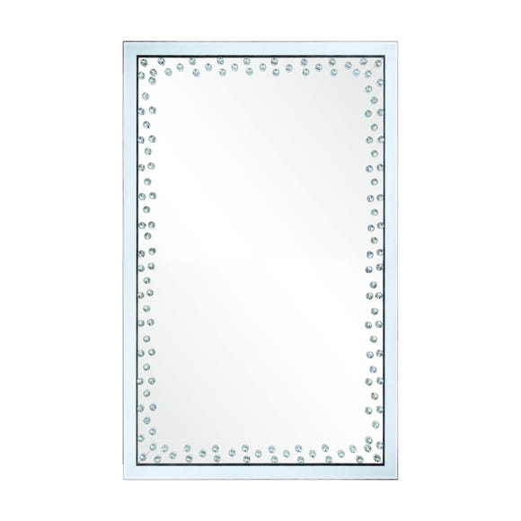 Diamond Edge Wall Mirror 60x90cm Clear