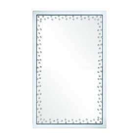 Diamond Edge Wall Mirror 60x90cm