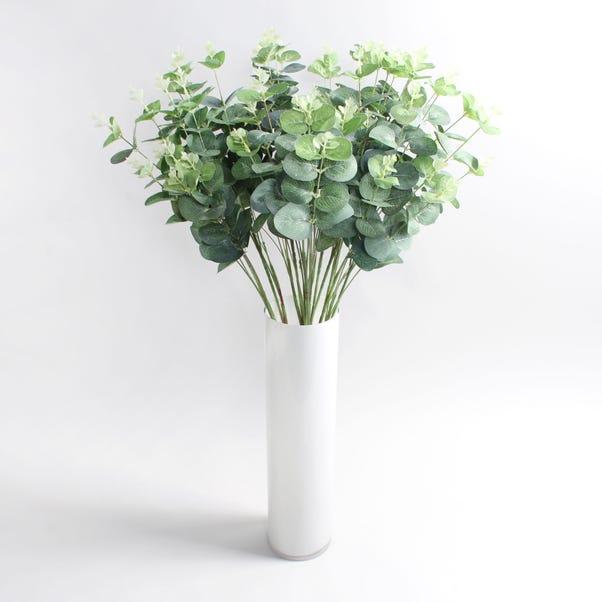 16pk Artificial Eucalyptus Green Spray 78cm Green