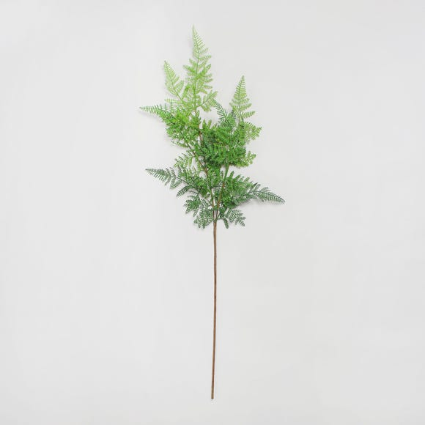 12pk Artificial Asparagus Fern Green 90cm Green