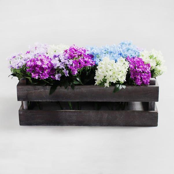 24pk Artificial Blossom Multi Arrangement 24cm Multi Coloured