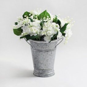 12pk Artificial Lily of the Valley Cream Stem 30cm