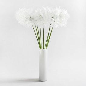 Pack of 12 Artificial Dandelion Stem 106cm