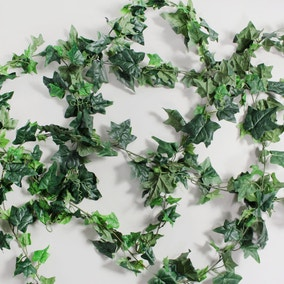 6pk Artificial English Ivy Green Garland 182cm