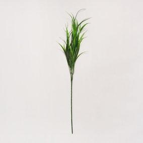 Artificial Vanilla Grass Green Single Spray 60cm