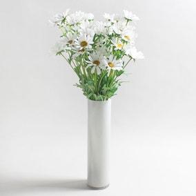 12pk Artificial Daisy White Spray 72cm