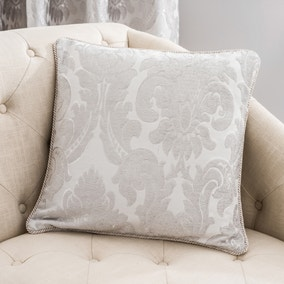 Versailles Silver Cushion