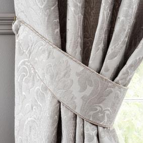 Versailles Silver Tiebacks