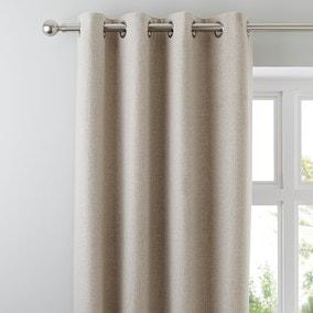 Jennings Natural Thermal Eyelet Curtains