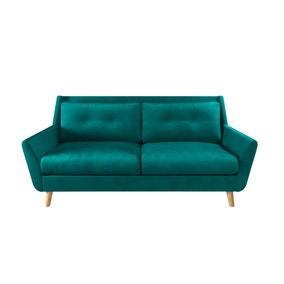 Halston Velvet 3 Seater Sofa