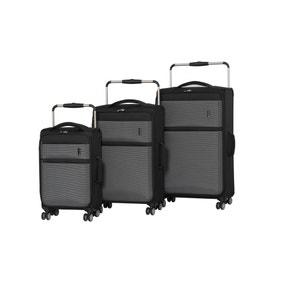 IT Luggage World's Lightest Black Suitcase