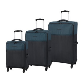 IT Luggage The Lite Black Suitcase