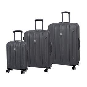IT Luggage Graphite Hard Shell Suitcase