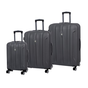 IT Luggage Graphite Hard Shell Suitcase