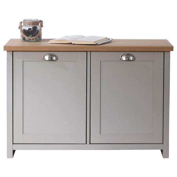 Lancaster Shoe Cabinet Grey