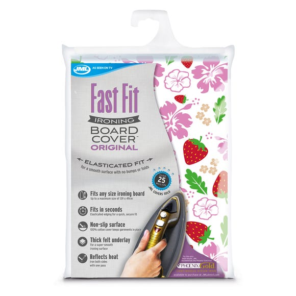 JML Fast Fit Ironing Board Cover Multi Coloured