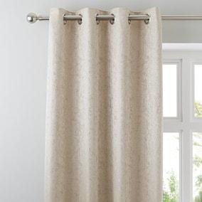 Richmond Champagne Eyelet Curtains